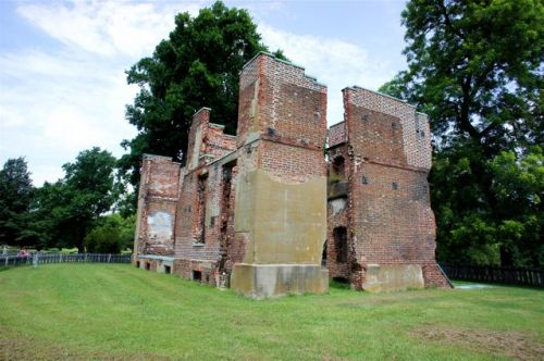 Mansion Ruins at the Historic Jamestowne Site