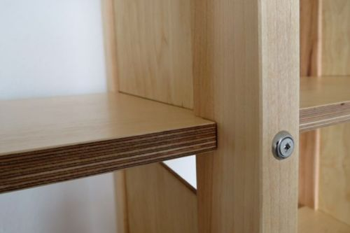Shelf joinery detail