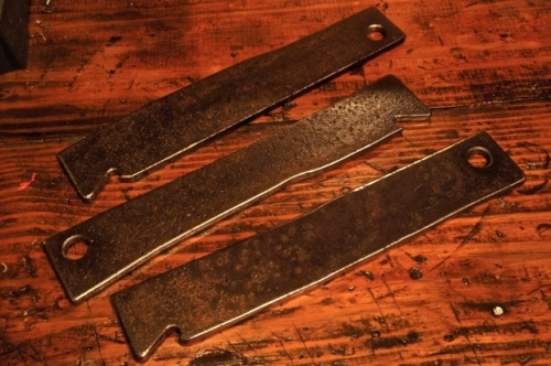 """""""bacon meat"""" large bottle openers - 1/4"""" plate steel"""