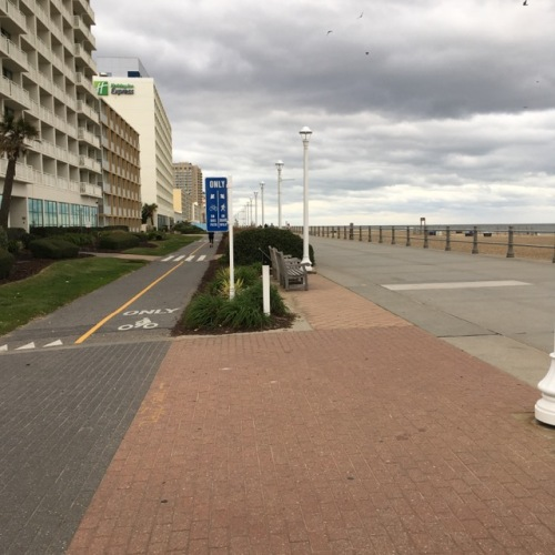 The waterfront at Virginia Beach